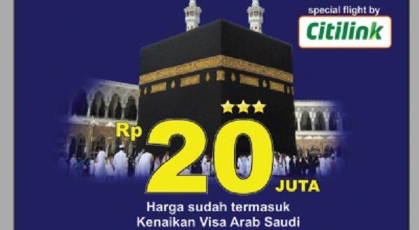 Promo Umrah Ummat Hanya 20 Jutaan