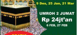 Jadwal dan Harga Umroh Plus Rima Tour 2019